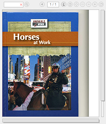 Horses at Work (Childrens Book)