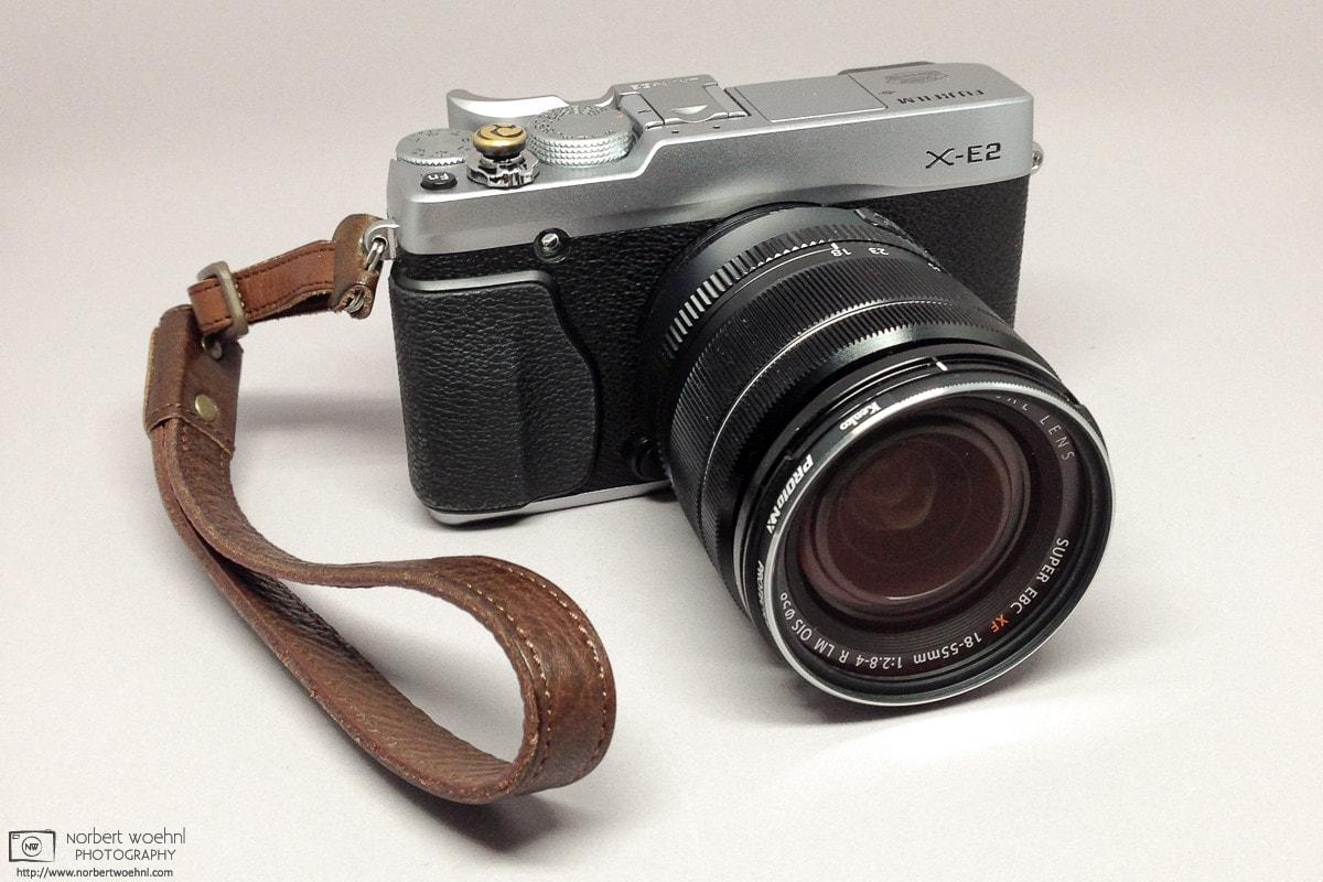 My Fujifilm X-E2 with Fujinon XF 18-55mm f/2.8-4 zoom lens Photo