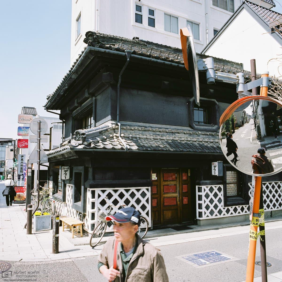 Nakamachi Street Corner, Matsumoto, Japan Photo