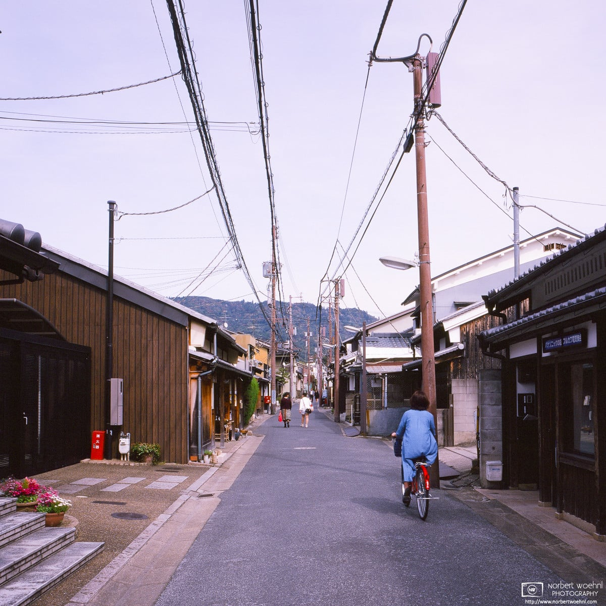 Naramachi Side Street, Nara, Japan Photo