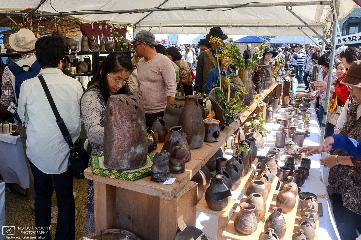 Bizen Pottery Festival, Imbe (Bizen), Okayama, Japan Photo