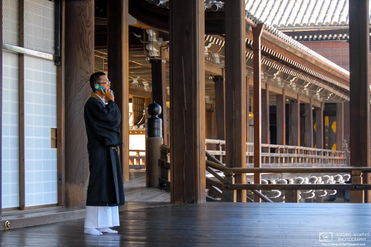 Nishi-Honganji Temple, Kyoto, Japan Photo