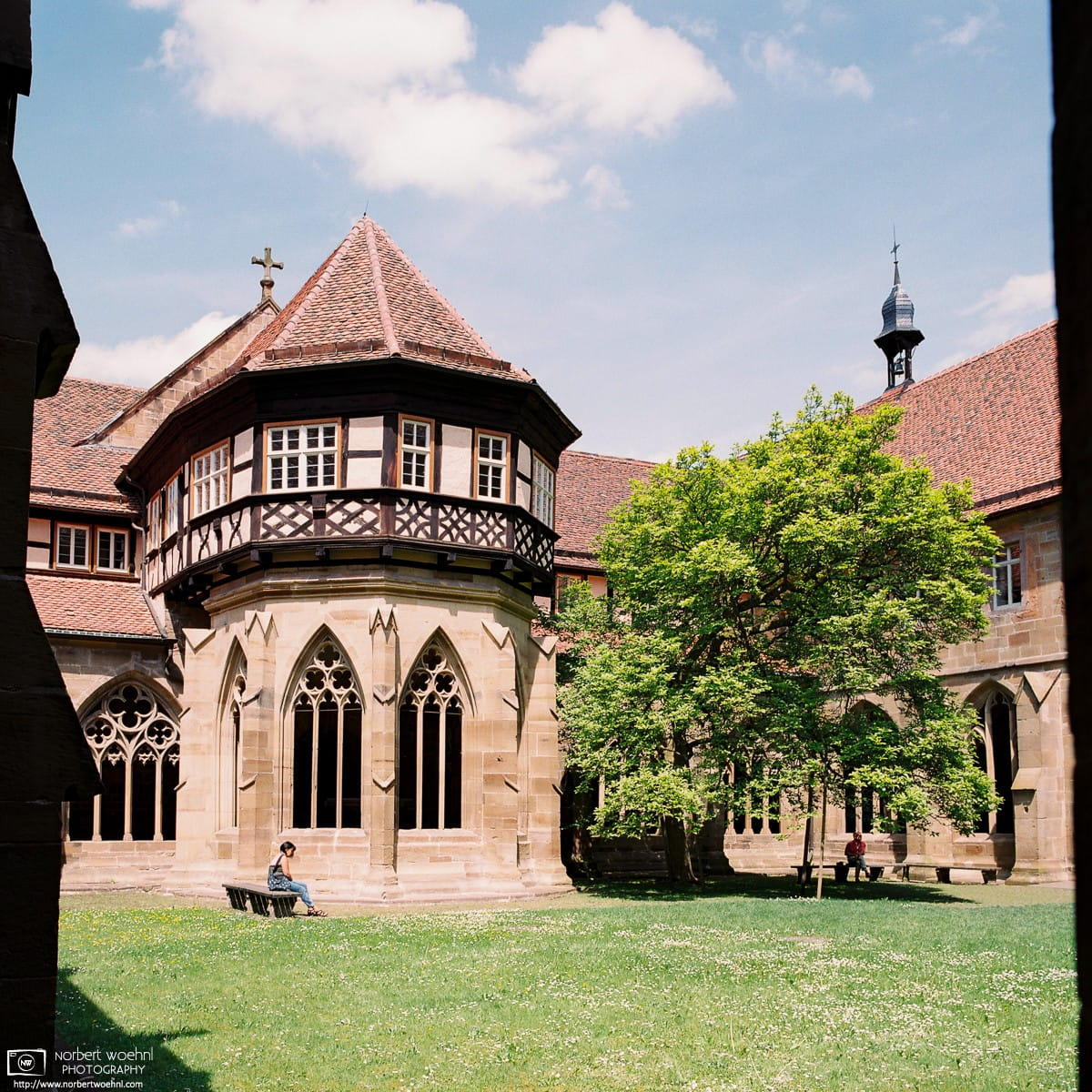 View of Fountain House, Maulbronn Monastery, Germany Photo