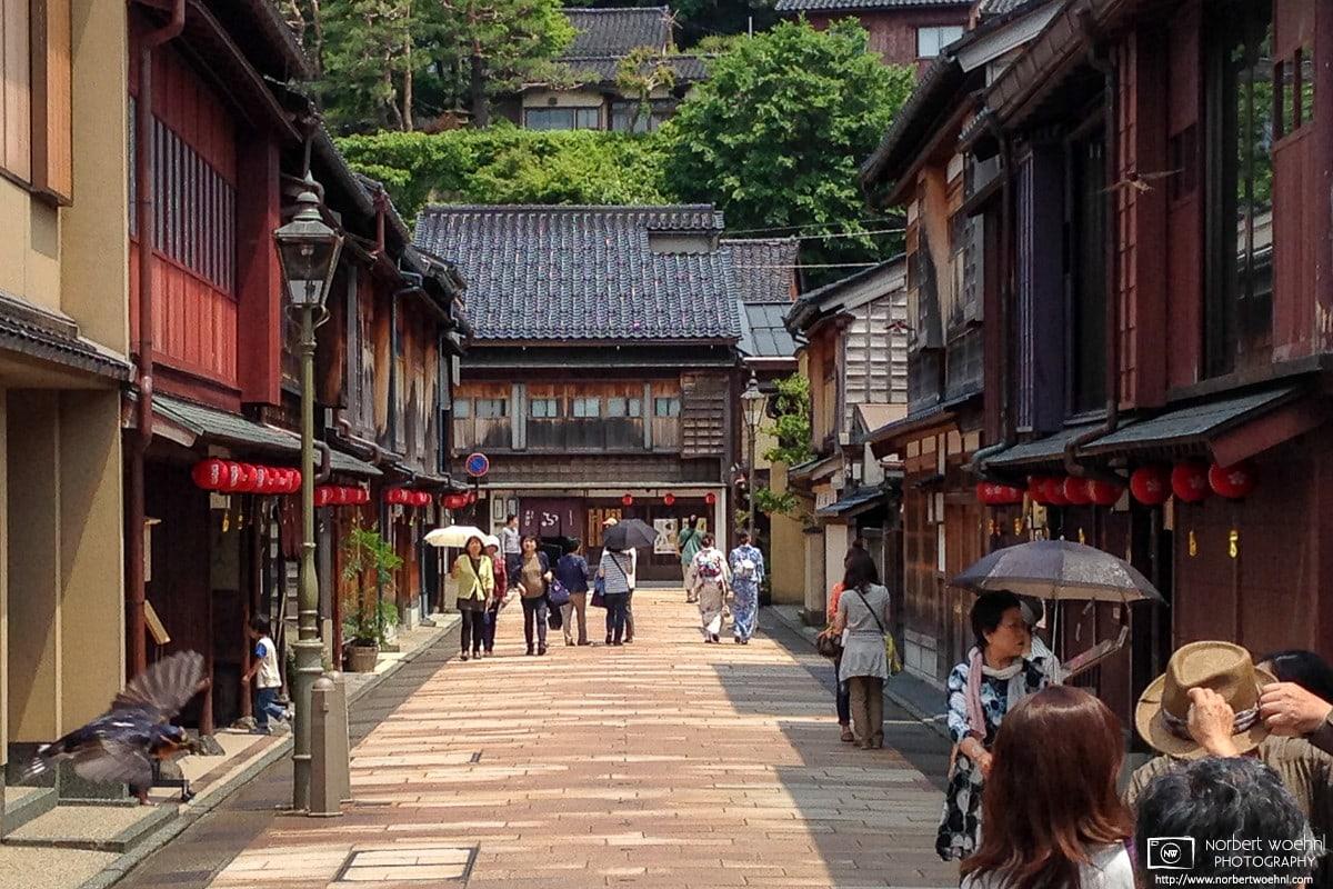 Higashi Chayagai, Kanazawa, Japan Photo