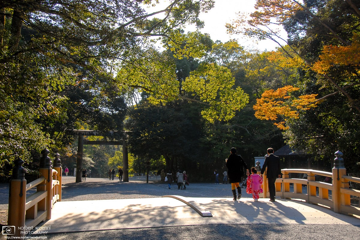 An autumn impression from the Inner Shrine (Naikū; 内宮) at the Ise Grand Shrine (Ise Jingū; 伊勢神宮) in Mie Prefecture, Japan.