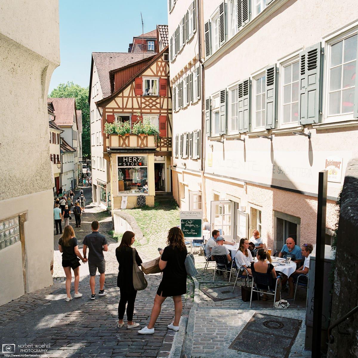 Old Town Italian Restaurant, Tübingen, Germany Photo