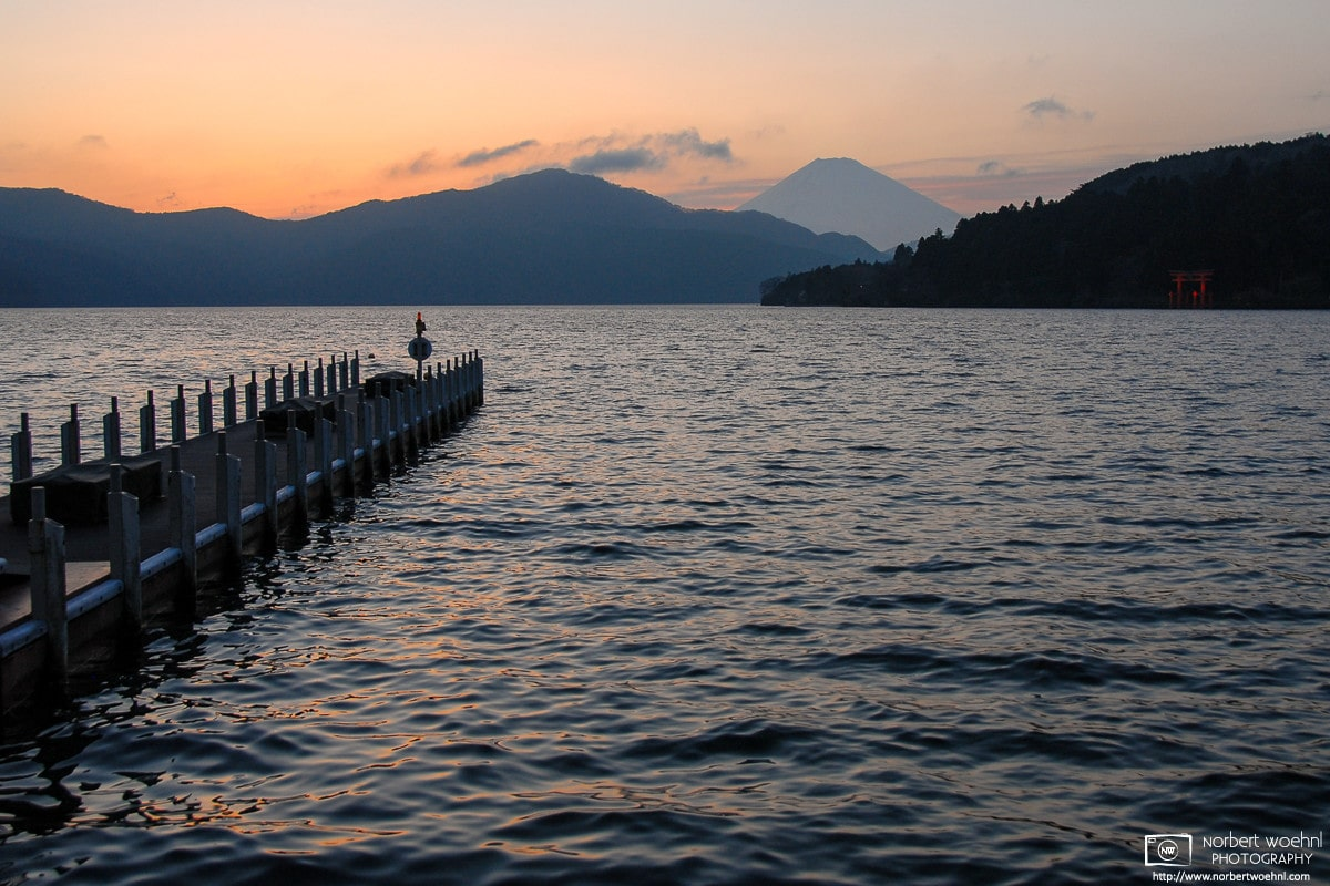 Good Evening Fujisan, Hakone, Japan Photo