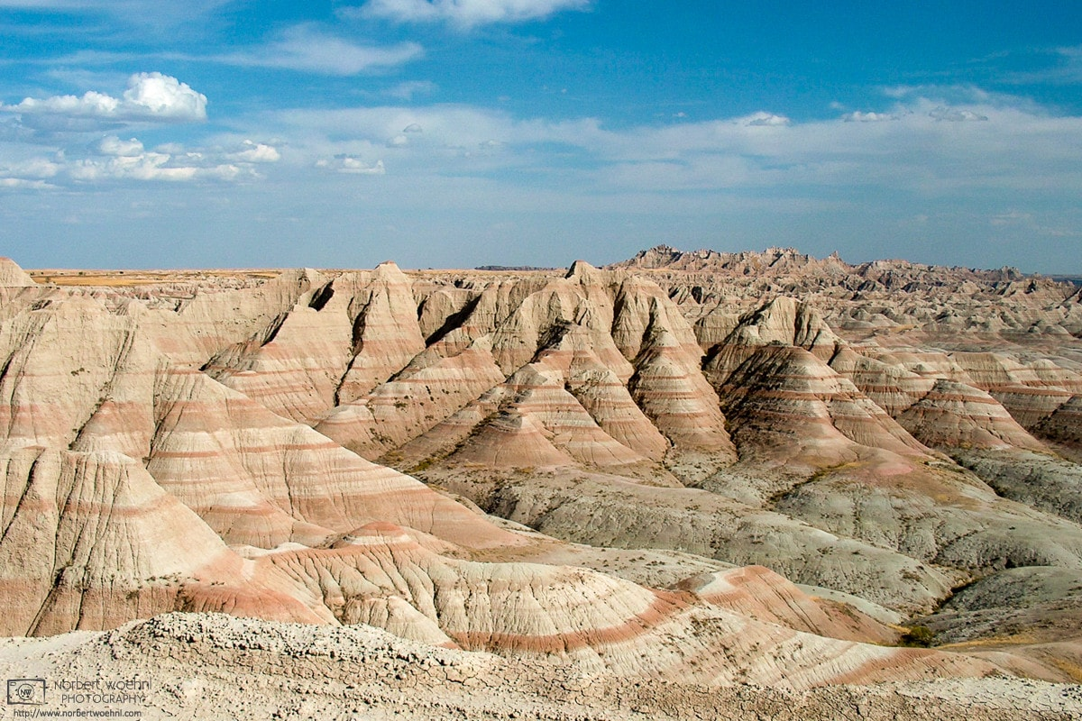 Pinnacles Overlook, Badlands National Park, South Dakota, USA Photo