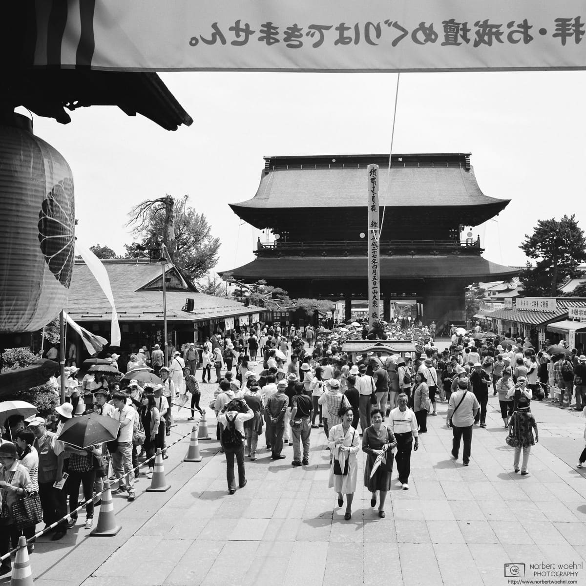 Gokaicho is an event held every 6 years at Zenkoji Temple in Nagano, Japan. Visitors can view a copy of the first Buddhist statue ever to be brought into Japan.