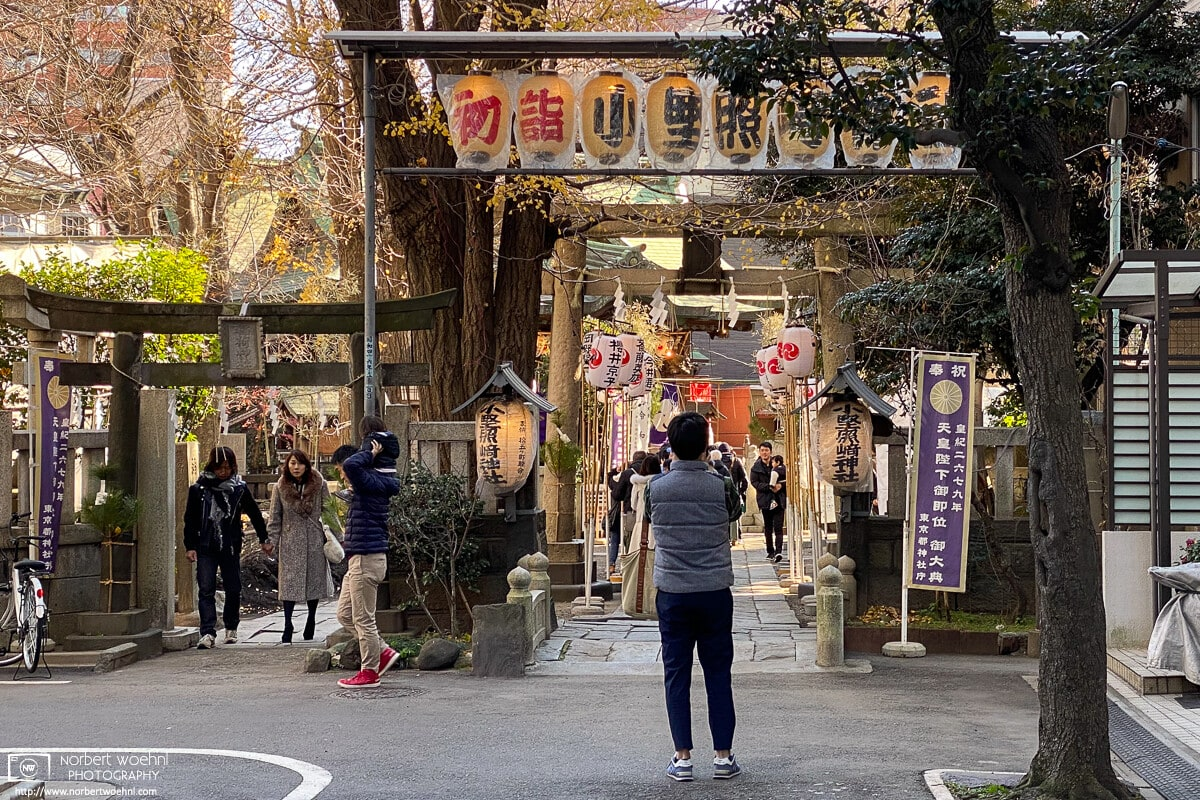 Hatsumōde, Ono Terusaki Shrine, Tokyo, Japan